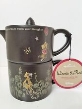 Hallmark Disney Winnie the Pooh Tea for One Teapot Set NWT