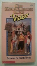 THE BABY SITTERS CLUB #2 Dawn and the Haunted House VHS