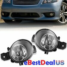 For 08-13 Nissan Altima Sedan Coupe Clear Front Fog Lights Bumper Driving Lamps