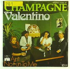 "7"" Single - Champagne  - Valentino - S1498 - washed & cleaned"