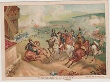 IMAGE LITHO.VIEILLEMARD/BATAILLE DE VALMY- 1792/GUSTAVE DUCOUDRAY/CHEVAUX/