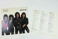 Authentic KISS LICK IT UP LP Vinyl Vintage  RECORD ALBUM 1983