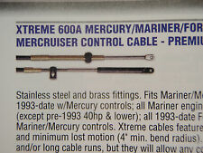 CONTROL CABLES PAIR 18FT 1-CCX17918 MERCURY MERCRUISER MARINER XTREME 18 FOOT