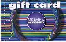 TELEFONKARTE: GIFT CARD  BED BARTH & BEYOND  LEER