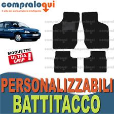 PER OPEL CORSA B (93-00) TAPPETI AUTO MOQUETTE NERA GRIGIA ANTRACITE BATTITACCO