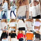 NT Women Lady Summer Off Shoulder Casual Slim Vest T-Shirt Top Blouse 17 Styles
