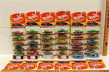 36 Vintage Hot Wheels Classics 2004-2006 Diecast Mattel Redline No Two Alike NOC