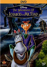Disney Halloween Classic The Adventures of Ichabod and Mr. Toad's Wild Ride DVD