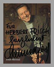 JOSEF MEINRAD | Schauspieler | Original-Autogramm auf Starpostkarte