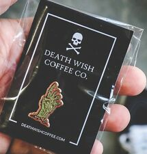 Death Wish Coffee Co. Limited Edition RunDead Pin DWCC Zombie Enamel Pin