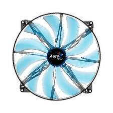 New AeroCool Silent Master 200mm Blue LED Case Fan