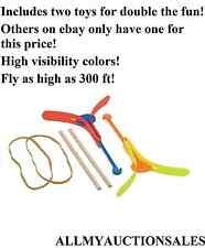 Pack of 2 High Visibility Arrowcopter Toys Fly up to 300 FT! World Ship Free U.S
