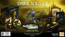 Dark Souls III: Collector's Edition (Microsoft Xbox One, 2016) - Brand New
