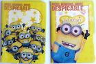 DESPICABLE ME MINION Childrens Passport Cover Case Protector Holder Kids NEW