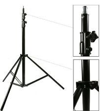 300cm 10ft Spring-Cushioned Light Stand 3 Section Studio Large Stand heavy duty