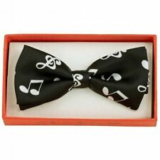 Musical Piano Note Toddler Kids Bow Tie Boys Girls Child School Picture Recital