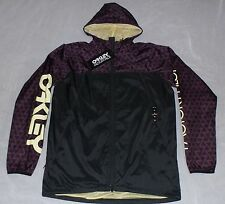 Oakley Factory Pilot 1260 Windbreaker Jacket Purple Night Men Size XL #411985