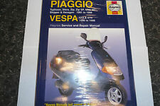 HAYNES PIAGGIO VESPA WORKSHOP MANUAL NEW (SS)