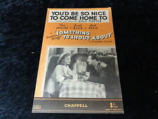 C1940s Sheet Music - You'd be so nice to come home to by Cole Porter