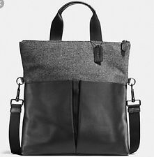 COACH Fold-over Tote Wool F55408 NWT 60%OFF! WOW! NWT