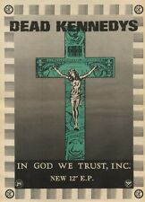 14/11/81PGN24 ADVERT: DEAD KENNEDYS NEW E.P IN GOD WE TRUST 15X11