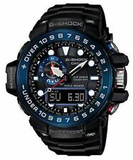 Casio Mn G-Shock Gulfmaster Triple Sensor Smart Access Blk/Blu Watch GWN1000B-1B
