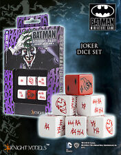 Knight Models Nuovo Con Scatola JOKER Dadi Set acc0032