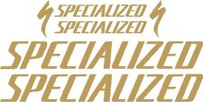 Specialized Bicycle Decal Set MTB/Road (Gloss Gold)