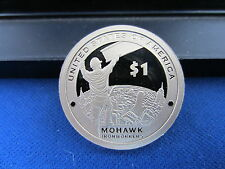 2015-S Deep Cameo Mirror Proof  Sacagawea  MOHAWK IRONWORKER Kahnawake Native