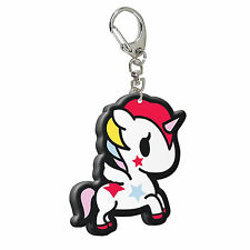 TOKIDOKI STELLINA PVC KEYRING BAG CHARM METAL LOOP UNICORNO UNICORN CARTOON GIFT