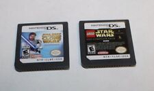 NINTENDO DS LEGO STAR WARS & STAR WARS CLONE WARS GAMES FREE SHIPPING