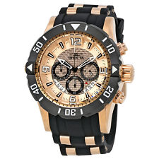 Invicta Pro Diver Chronograph Copper Dial Mens Watch 23711