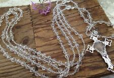 WEDDING LASSO AUTHENTIC SWAROVSKI CLEAR CRYSTAL/  LASSO DE BODA CRYSTAL CORTADO