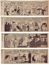 Boots by Edgar Martin - 24 daily comic strips - Complete February 1957