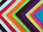 cushion cover plain cotton BLACK white RED lime PINK purple ORANGE teal YELLOW