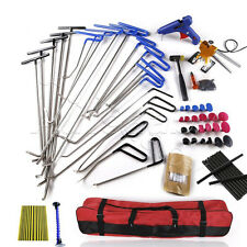 52x Professional PDR Tools Ding Dent Repair Rods Paintless Hail Removal Big Kit