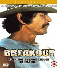 Breakout DVD Charles Bronson Robert Original New and Sealed UK Release Region 2