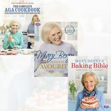 Mary Berry 3 Books Collection Set (The Complete Aga Cookbook) Hardcover New Pack