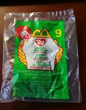 "MC DONALDS HAPPY MEAL TOY 1999 #9 TY Teenie Beanie Baby ""Claude the Crap"" - NIP"