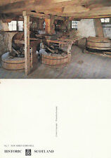 1980's NEW ABBEY CORN MILL DUMFRIES SCOTLAND UNUSED COLOUR POSTCARD