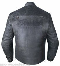 Indian Motorcycle Mens Headstrom Jacket 3XL XXXL Leather genuine riding rider