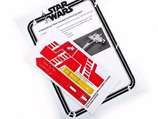 STAR WARS VINTAGE XWING DIE CUT REPLACEMENT STICKERS for 1978-82 X-WING FIGHTER