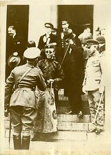 """""""CONFLIT SINO-JAPONAIS 1932 (POU YI)"""" Photo originale G.DEVRED (Agce ROL)"""