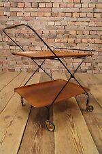 TEAK SERVIERWAGEN BARWAGEN TEEWAGEN TABLE TISCH BEISTELLTISCH String Tisch 60s