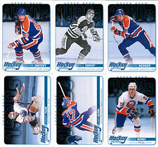 13/14 UD SERIES 1 HOCKEY HEROES 1980s INSERT SET (12) GRETZKY LEMIEUX ROY FUHR