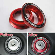 Aluminum Ignition Keyring Key Lock Keyhole Decoration Ring Trim for Focus 05-12