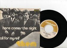 THEM 7'' PS All For Myself Italy ULTRA RARE DERAM DM 400 UNIQUE NICE COVER 45
