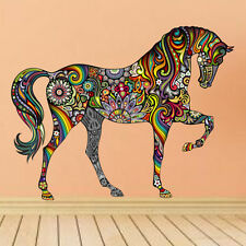 Animal Cheval Autocollant Mural Vinyle Amovible Art Décor Maison Nurserie