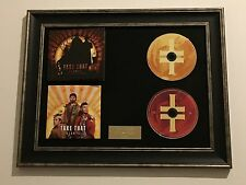SIGNED/AUTOGRAPHED TAKE THAT - GIANTS FRAMED CD PRESENTATION. GARY BARLOW