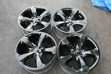 "Dodge Challenger Charger Chrysler 300 OEM 20"" Rims 2011 2012 2013 2014 BLACK TOP"
